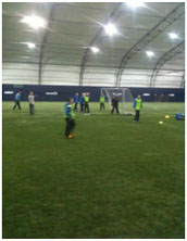 Christmas Treat for Young Footballers